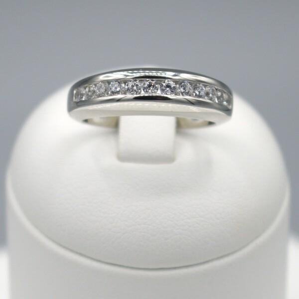 Damenring mit Zirkoniasteinen JS10855 - 925 Silber