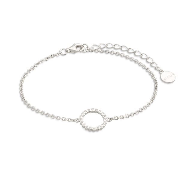 """XENOX Armband silber """"Kreis - Happy Hour Kollektion"""" mit Zirkonia XS2934"""