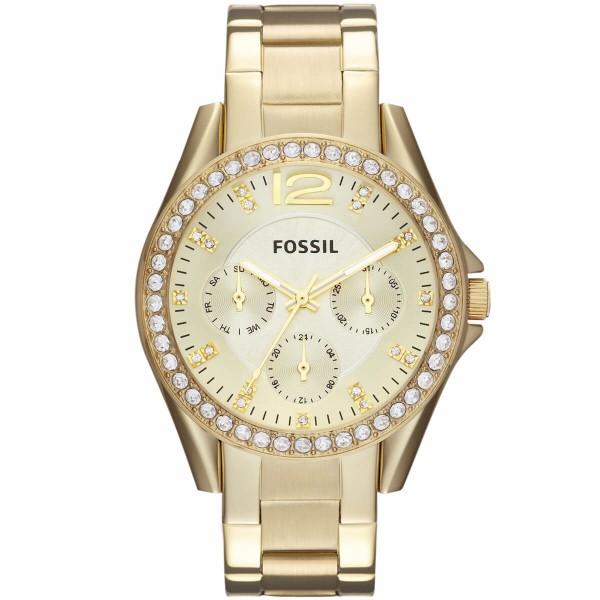 """Fossil Damenuhr gold """"Riley"""" ES3203"""