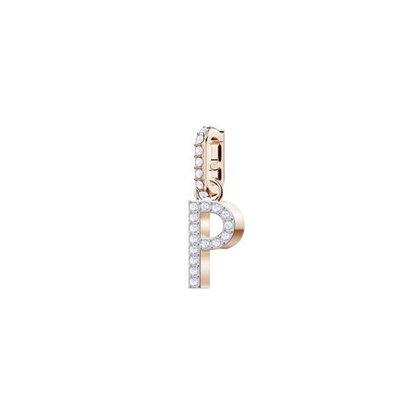 """Swarovski Charm rosé """"P"""" 5437625"""