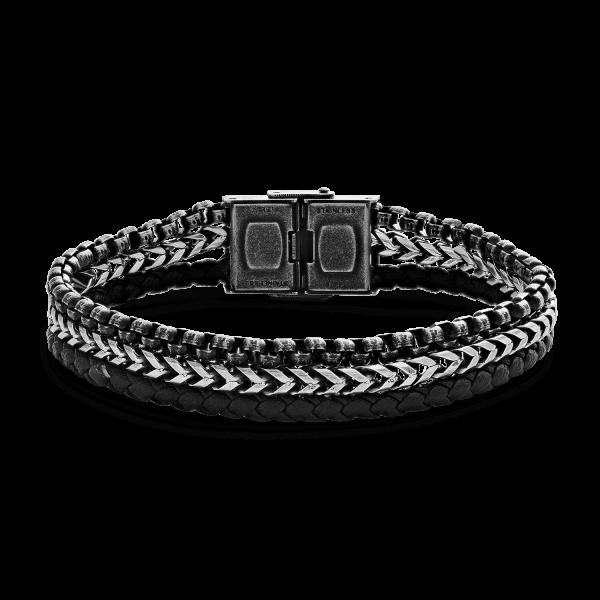 XENOX Leather & More Armband bicolor X4533