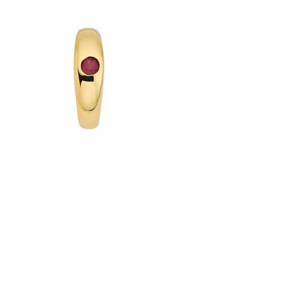CEM Taufring 333er Gold mit Rubin BAH302951
